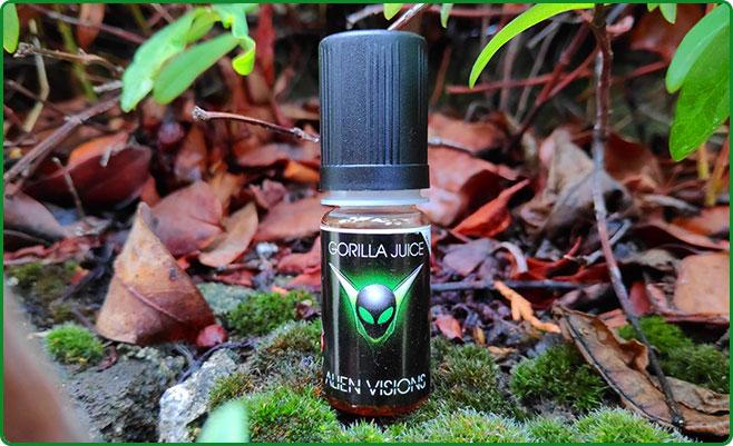 e liquide alien visions gorilla juice 10ml