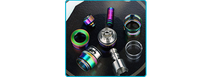 Exvape Expromizer V3 Fire parts