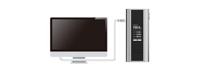 Cuboid 150W Joyetech Chargement Firmware