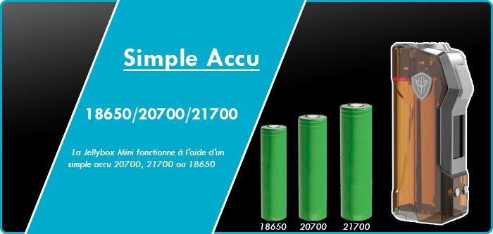 rincoe jelly mini accu18650 20700 21700