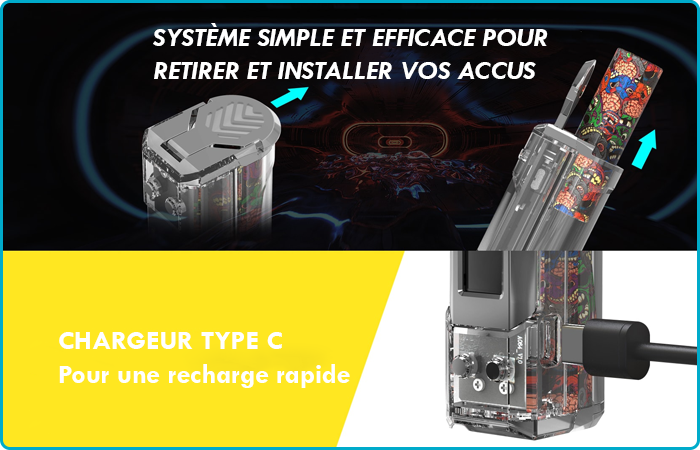 rincoe jelly recharge rapide accu