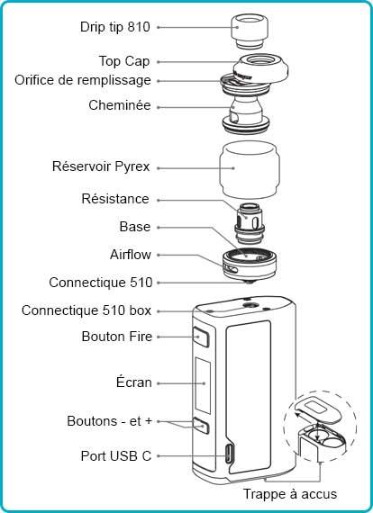 geekvape obelisk 200 mode d'emploi