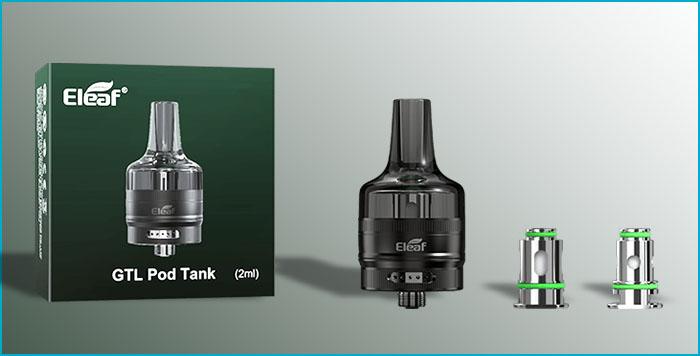 gtl tank eleaf 2ml coil résistance