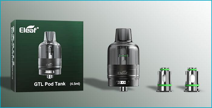 gtl tank eleaf 4.5ml coil résistance