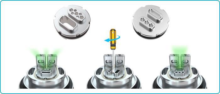atomiseur reconstructible MD RTA HellVape coton
