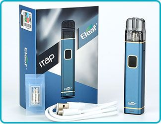 iTap Pod Starter Kit 800mAh contenu kit Eleaf