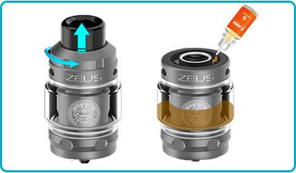 mettre e-liquide kit aegis legend 2 l200 geekvape