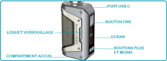 notice d utilisation kit aegis legend 2 l200 geekvape ip68