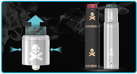 Kit Vandy Vape Bonza RDA airflow