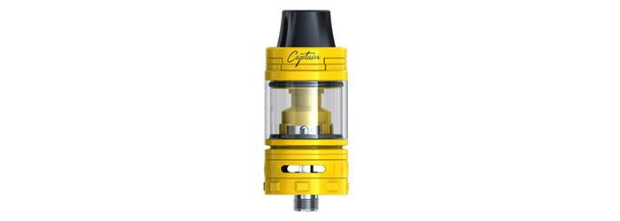 captain mini sub ohm tank jaune - ijoy