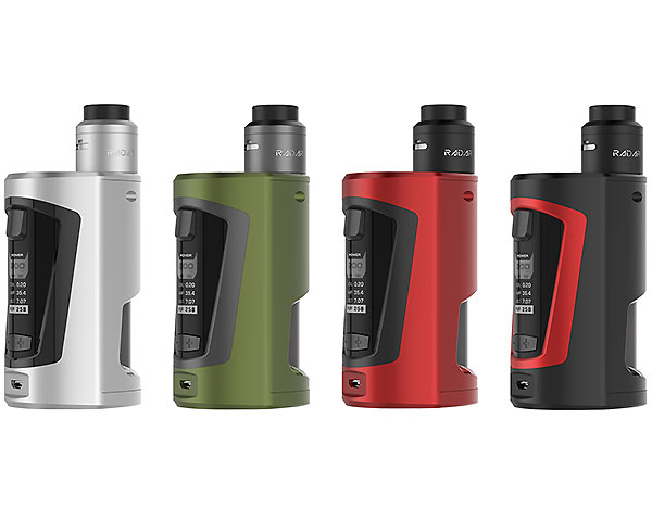 kit Gbox squonker BF 200W GeekVape couleurs