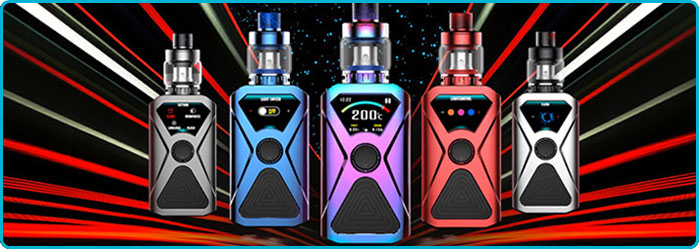 kit xlum 200w tc kanger