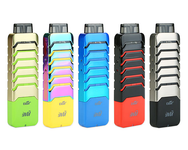 kit pod iwu eleaf couleurs