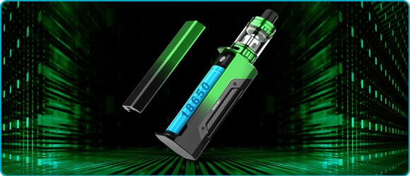 Kit cigarette electronique rigel mini 80w accu smoktech