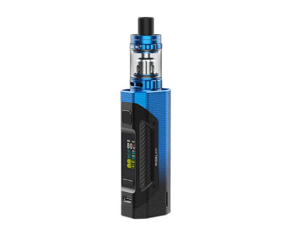 Achat kit rigel mini 80w black blue smoktech