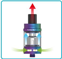airflow inhalation directe kit scar mini tfv9 mini smoktech