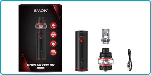 kit Stick V9-Max contenu kit Smoktech