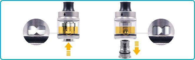 clearomiseur aspire tigon 2ml : liquidflow