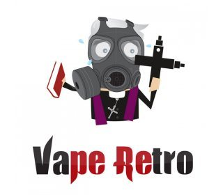 vape retro t-shirt