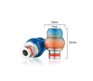 Drip tip Gorgeous delrin SS 3