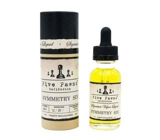 eliquide symmetry six 50ml five pawns