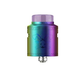 Dripper dead rabbit v2 rda rainbow hellvape