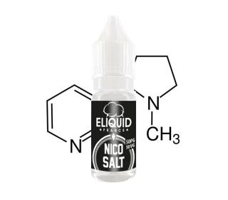 booster sel de nicotine diy eliquid france