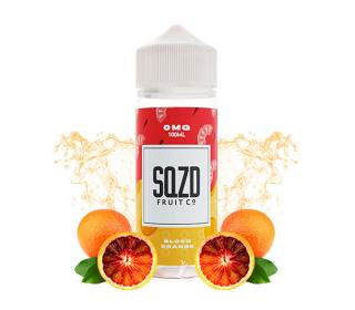 e liquide 100ml blood orange sqzd