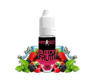 e liquide au sel de nicotine bloody frutty fifty salt liquideo