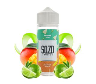 e liquide flacon 100 ml mango lime sqzd