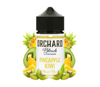 E liquide americain grand format pineapple kiwi orchard blends