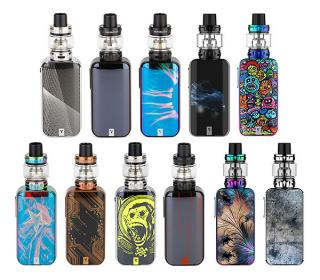 Kit luxe s 220W vaporesso couleurs