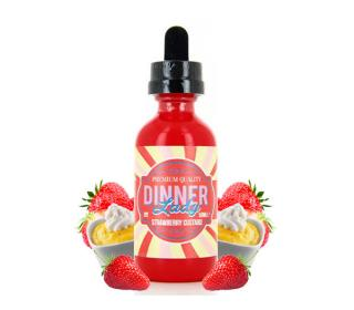 eliquide strawberry custard dinner 50ml
