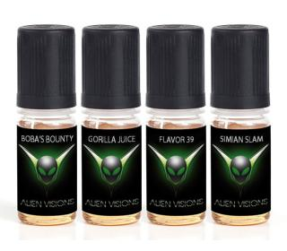 boba's bounty gorilla juice ave juice alien visions test pack