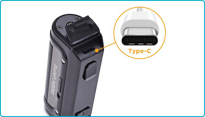 mod geekvape m100 batterie intégrée