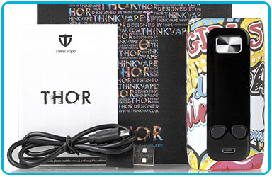 Box Think Vape Thor Pro 220W TC package