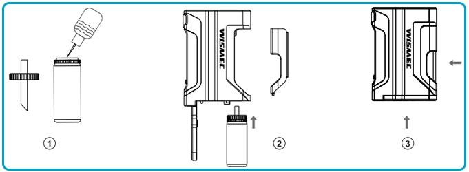 notice d'utilisation du kit luxotic wismec fonctionnement