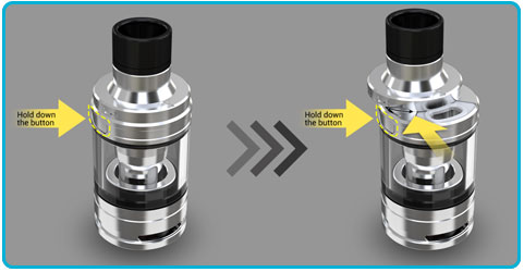 Notice d'utilisation istick pico x avec clearomiseur melo 4 d22 remplir e-liquide
