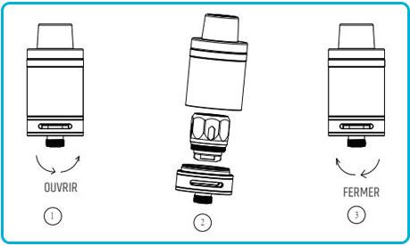 notice d'utilisation du kit swag de vaporesso clearomiseur résistance