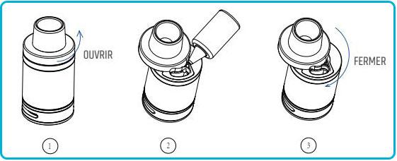 notice d'utilisation du kit swag de vaporesso nrg se