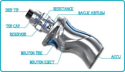 caractéristiques kit mag v9 smok