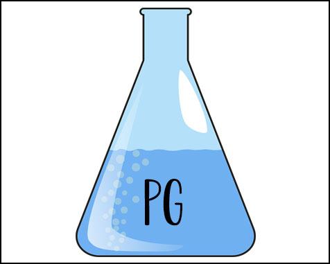 Propylene glycol e liquide cigarette electronique