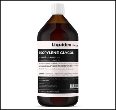 Propylène glycol sans nicotine