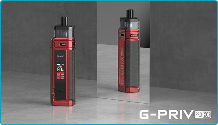 cigarette électronique pod g-priv pro smoktech