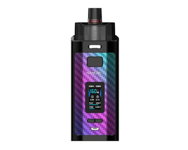 pod smok rpm 160 carbone rainbow