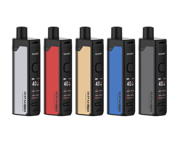kit pod rpm lite couleurs