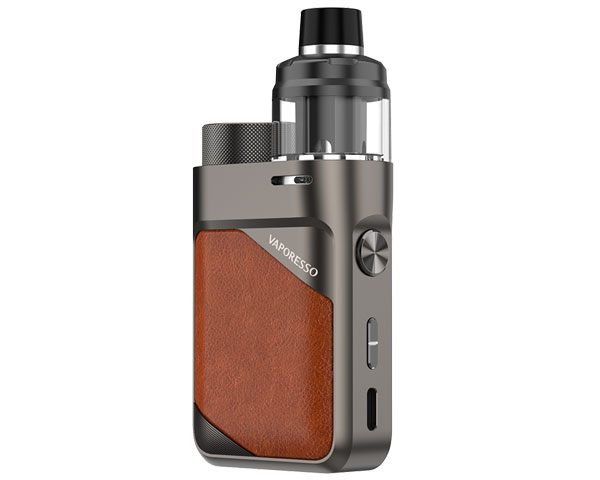 achat pod vaporesso swag PX80 leather brown