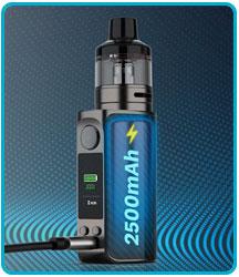 recharger batterie intégrée kit luxe 80 vaporesso