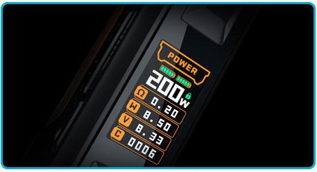 paramétrage kit aegis legend 2 l200 geekvape