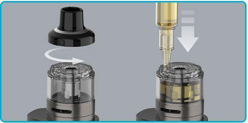 mettre e liquide kit luxe 80 vaporesso